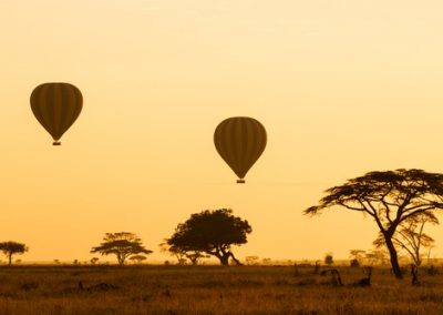 hot air balloon tanzania
