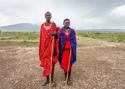 Day Visiting A Maasai Village