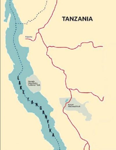 lake tanganyika map